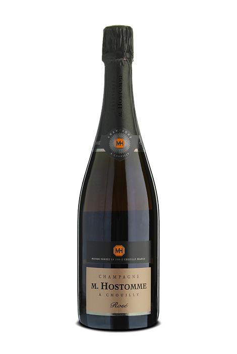 M. Hostomme Brut Rose Champagne AOC